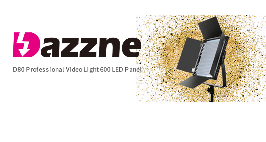 Dazzne D80 Rank NO.2 in EZVid Wiki's Top 10 Best Lighting Barn Doors for 2019